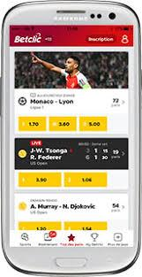 Betclic application mobile